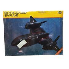 Testors 1/48 SR-71 Blackbird Spyplane - Model Kit #584 PURCHASED 1983 NEW w/ Rec