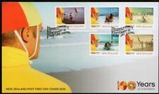 NEW ZEALAND 2010 Surf Life Saving FDC