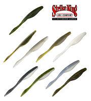 "Strike King Caffeine Shad 4"" (10 Cm) 8 Pack Bass Fishing Soft Plastic Bait Lure"