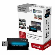 KWORLD DVD Maker2 	KW-DVDMAKER2 USB2.0 Vista, Win7, Mac