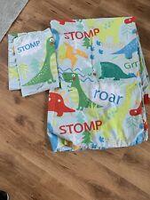 Asda Dinosaur Single Reversible  Duvet Cover And Pillowcase