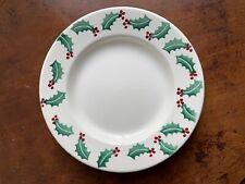 "Emma Bridgewater Christmas Holly 10.5"" Dinner Plate New & 1st Quality"
