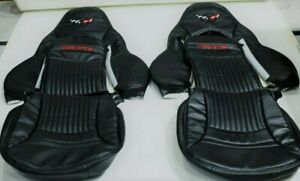 CHEVY CORVETTE C5 1997-2004 SYNTHETIC LEATHER CUSTOM AND COMPATIBLE SEAT COVERS.