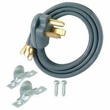 NEW GE 6-ft 3-Wire 3-Prong Universal Gray Dryer Appliance Power Cord WHIRLPOOL