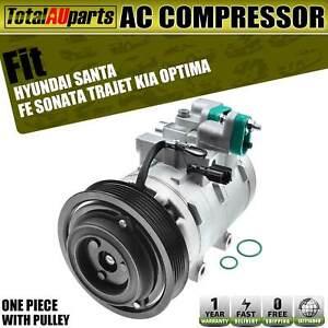 AC Compressor for Hyundai Santa Fe SM Sonata EF Trajet FO Kia Optima 1998-2010