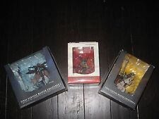 Final Fantasy Master Creatures Lot of 3 Action Figures Odin, Mateus, Ifrit - New