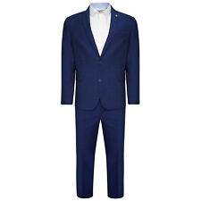 Farah Suit Skinny Fit Mid Blue 2 Piece (36R).. Sample 6448