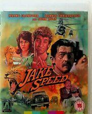 Jake Speed -80s Action Film Blu Ray -NEW -Wayne Crawford & John Hurt (Arrow)