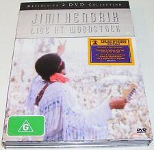 JIMI HENDRIK--Live At Woodstock---( Dvd 2 Disc Set)