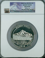 2010 5 OZ  MOUNT HOOD NGC MAC MS69 DPL DMPL LOWEST DPL POP SPOTLESS *