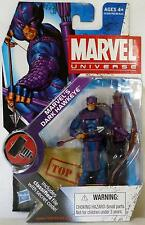 "MARVEL'S DARK HAWKEYE Marvel Universe 4"" inch Action Figure #31 Series 2 2010"