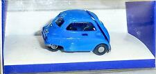 BMW ISETTA BLU SEGNALE IMU / EUROMODELL H0 1/87 conf. orig. # GB 5 Å