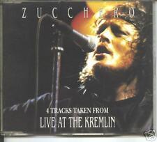 zucchero -live at  the kremlin  promo cd
