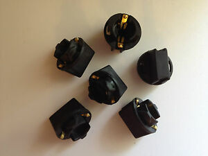 6x GMC 194 Instrument Panel Cluster Light Bulb Lamp Dashboard Socket Plug NOS