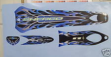 Sherco  up to 2005 complete Blue decal /sticker  set  .
