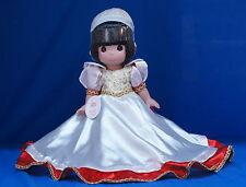 Snow White Dwarfs Disney Christmas Treasure Precious Moments Doll Signed 4851