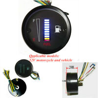 52MM Car Motorcycle Fuel Level Gauge Digital Instrument Electronic Oil Meter