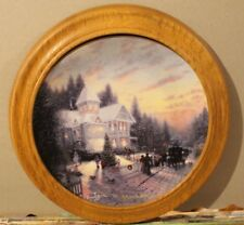 """The Magic Of Christmas"" - Thomas Kinkade's Yuletide Memories Collector Plate"