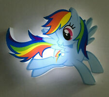 Hasbro 2015 My Little Pony Rainbow Dash Night Light. Used. 3DLightFX.