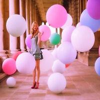 "36"" Inch Latex Matte Balloons Giant Big Wedding Birthday Party Celebration Decor"