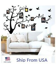 Family Picture Photo Frame Tree Wall Quote Vinyl Stickers Art Decals Home Decor