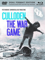 Culloden/The War Game DVD (2016) Peter Watkins cert 15 2 discs ***NEW***