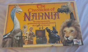 THE CHRONICLES OF NARNIA- Board Game- BBC Tv Production- New In Cellophane