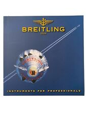 "(1999) w/ Price List very Rare Breitling Watch Catalogue ""Mint� ""Chronolog 2000�"