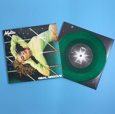 "Kylie Minogue - Real Groove 7"" Limited Edition Green Coloured Vinyl Record"