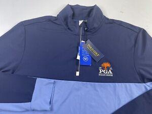 NWT Polo Golf Ralph Lauren 2020 PGA Championship 1/4 Zip Pullover Jacket Wicking