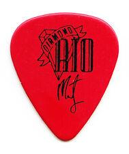 Diamond Rio Marty Roe Signature Red Guitar Pick - 1990s Tours