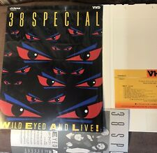 38 SPECIAL Wild-Eyed & Alive JAPAN-ONLY VHD VHM68074 w/Slip Case+Insert Free S&H