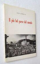 Leo Codacci IL PIU BEL PAESE DEL MONDO con dedica autografa biglietto da visita