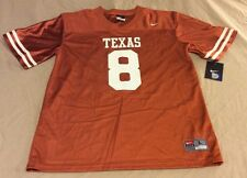 Texas Longhorns Nike #8 Jersey Youth Size Large (16/18) NWT MSRP $50