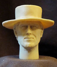 """CUSTOM CLINT EASTWOOD  THE GOOD,""""THE BAD AND THE UGLY"""" HEAD SCULPT. 1/6 12"""" A-65"""