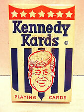 Kennedy Kards  Playing cards  Complete deck in original unopened sealed box *