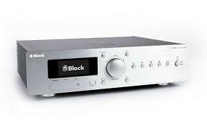 Audio Block VR-120 Diamantsilber (2 x 120 Watt, XLR, BT, Netzwerk)