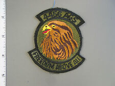 USAF issue 4456th Aircraft Generation Squadron subdued patch by Ira Green, new