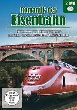 2 DVDs * ROMANTIK DER EISENBAHNEN - Dampf, Diesel # NEU OVP ~