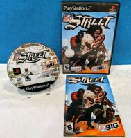 NFL Street (Sony PlayStation 2, 2004) with Manual - Tested & Working