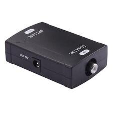 Coax Coaxial Input to Toslink Optical Digital Audio Output Converter 24bit/192K