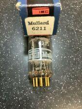 6211 BRIMAR MADE FOR MULLARD 12AT7 ECC81 12AV7 SUBSTITUTE NOS NIB (BJR5997)