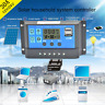 10A-30A Solar Panel Controller Battery Charge Regulator 12V/24V + Dual USB LOT#