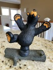 "Big Sky Carvers Bearfoots ""Hap"" Black Bear Collection Jeff Fleming"
