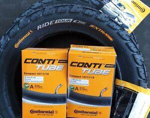 2 Continental  Set 12 1/2 x 2 1/4 (62-203) Reifen 2 Schläuche 45° AV