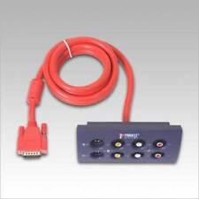 PINNACLE Video Editing AV/DV FireWire cable and breakout box(HTF)(RARE)Free ship