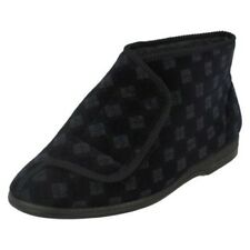 Balmoral Mens Chequered Pattern Bootee Slippers - VB M25