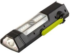 Torch 250 Flashlight w/ Built-In Usb Charging Cable, Solar Panel and Hand Crank