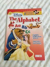 New Disney Adventures in learning The Alphabet workbook homeschool kindergarten