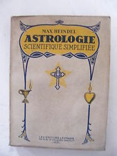 Astrologie Scientifique Simplifiée Max Heindel 1937
